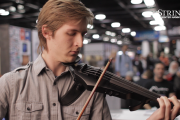 NS Design Electric Violin and Cello NAMM