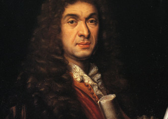 French Baroque Composer Portrait