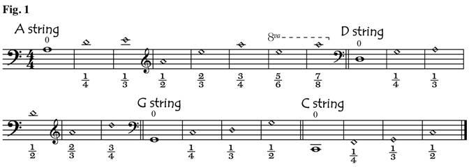 Learning The Seven Points On The Cello Fingerboard Strings Magazine