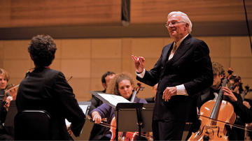 Sokol conducting SFCM Chamber Music Programs 25th Anniversary Concert 2010