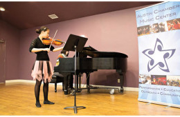 Student-Julie-Kim-performs-at-a-viola-master-class-on-February-15-hosted-in-Blackerby-Violin-Shop-s-performance-space-in-Austin-Texas