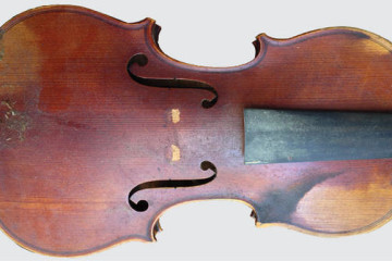 The difference between grime and shine on an instrument