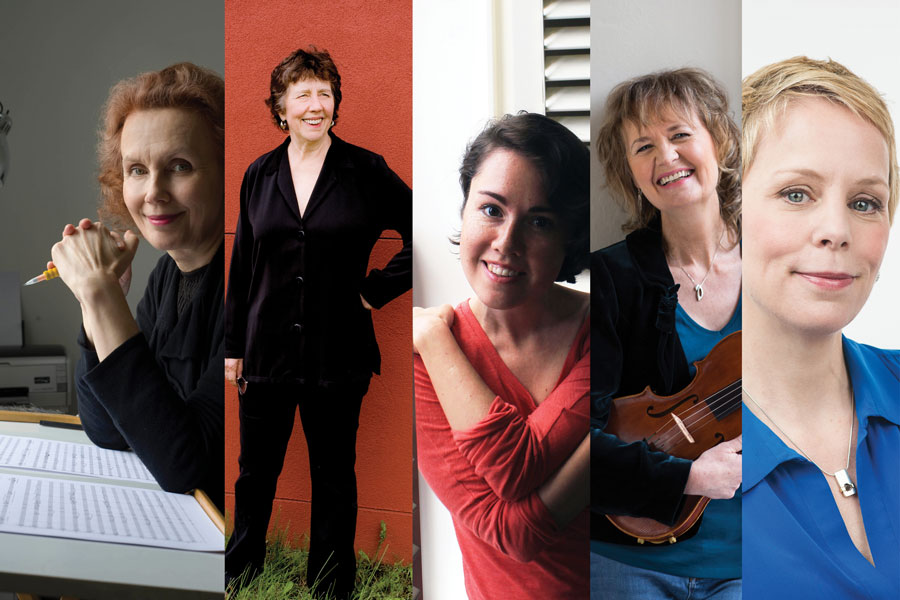 Innovative Chamber-Music Workshop Celebrates Female