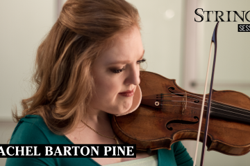 rachel barton pine strings session strings magazine bach