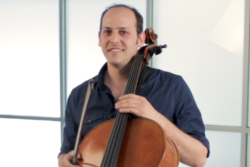 Cellist Mike Block