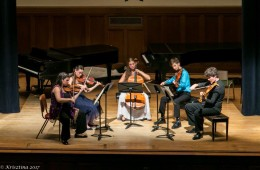Enews_Beethoven Viola Quintet with faculty and students
