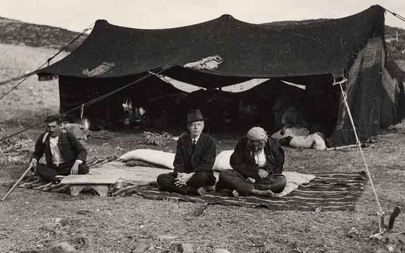Composer and ethnomusicologist Béla Bartók in Anatolia (modern-day Turkey)