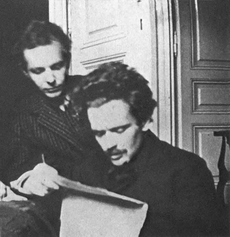 Béla Bartók and Zoltán Kodály were composers, ethnomusicologists and friends. Photo circa 1905 (PD-1923)