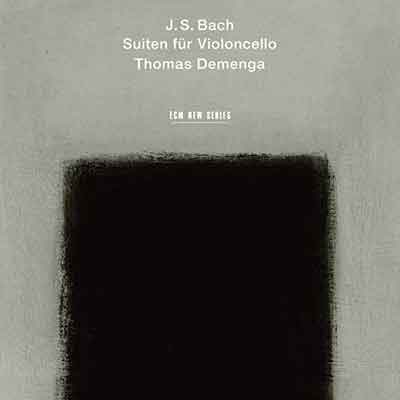 J.S. Bach Suiten für Violoncello Thomas Demenga, cello (ECM New Series)