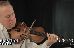 Christian Howes in a Strings Session