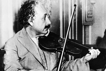 Scientist Albert Einstein's prized violin sold for more than a half-million dollars at auction