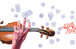 Recovering onstage after a mistake, and how to prepare your pieces to help avoid it
