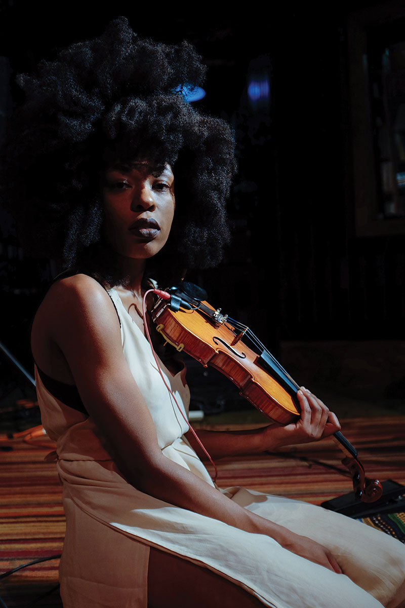 Violinist Sudan Archives discusses her eclectic blend of styles