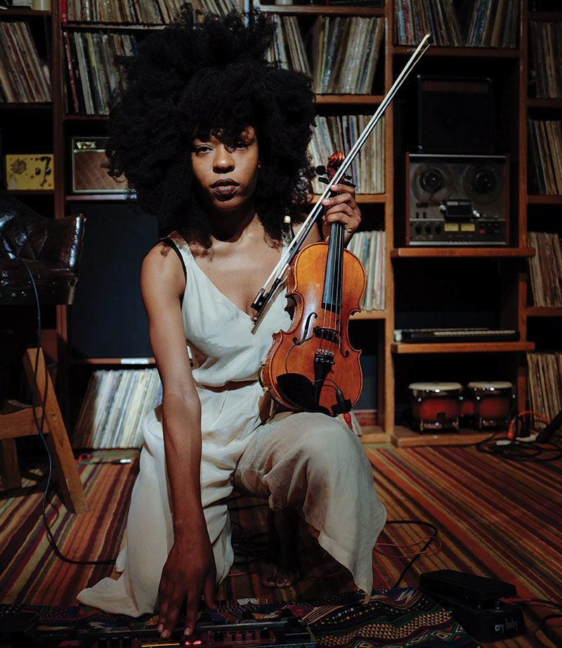 Violinist Sudan Archives discusses her eclectic blend of stylesSudan Archives