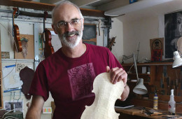 Luthier Andrew Carruthers describes his favorite part of the instrument-making process