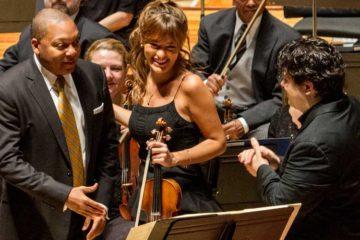 Nicola Benedetti and Wynton Marsalis