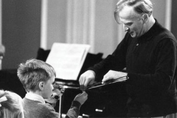 Menuhin and Nigel Kennedy