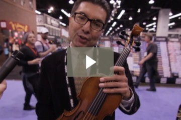 Ruben Salazar of Eastman at NAMM 2016