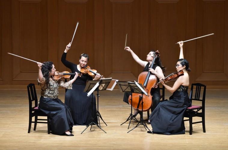 Aizuri Quartet Wins M-Prize Chamber Music Competition