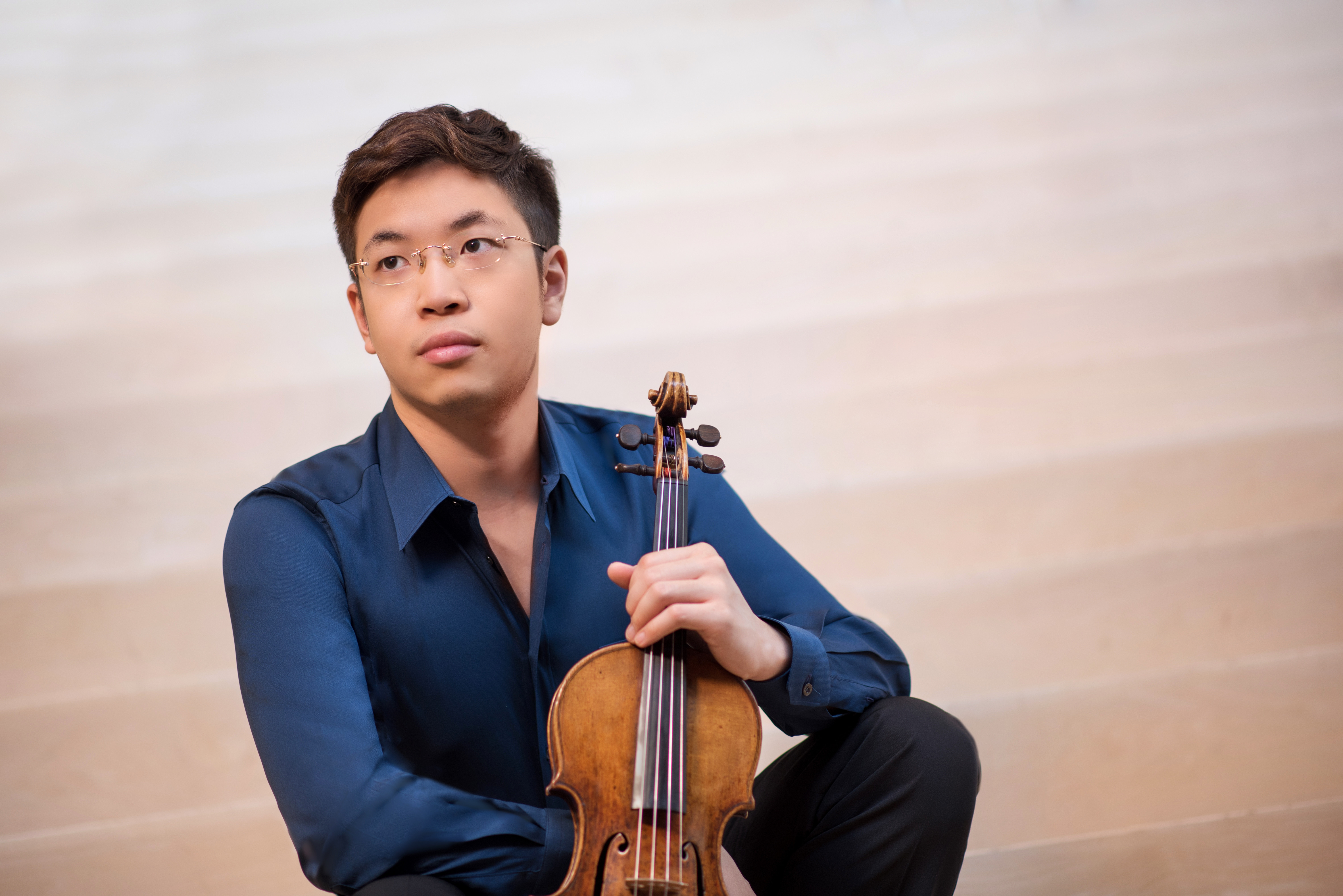 Violinist Paul Huang to Play Bruch's 'Scottish Fantasy' with