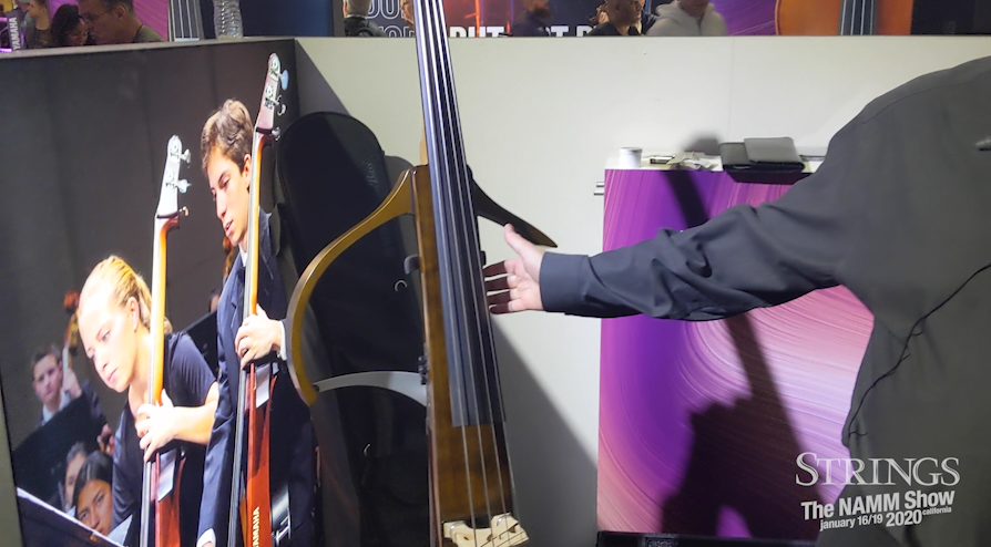 Yamaha Strings Launches New Generation of Electric Upright 'Silent Bass' at NAMM 2020