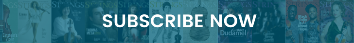 subscribe to strings magazine - for players of violin, viola, cello, bass, fiddle